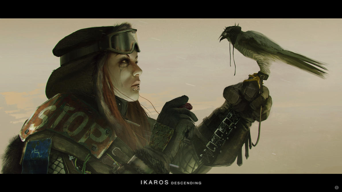 Ikaros Descending 07 by bradwright