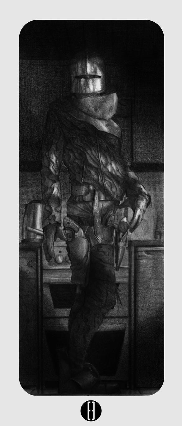 Kitchen Knight1 by bradwright