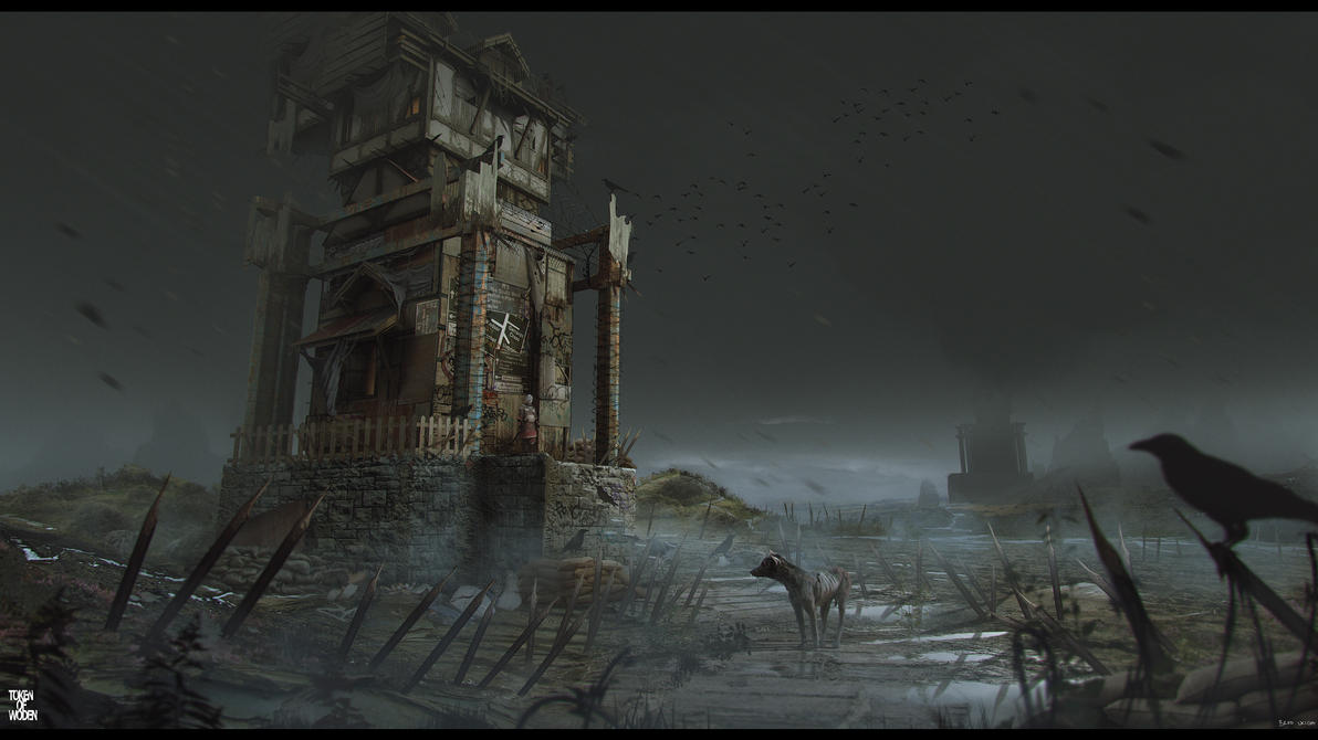 Token of Woden concept_Watch Tower by bradwright