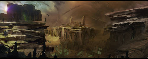 THE MAKER Sietch Tabr surface of arrakis by bradwright