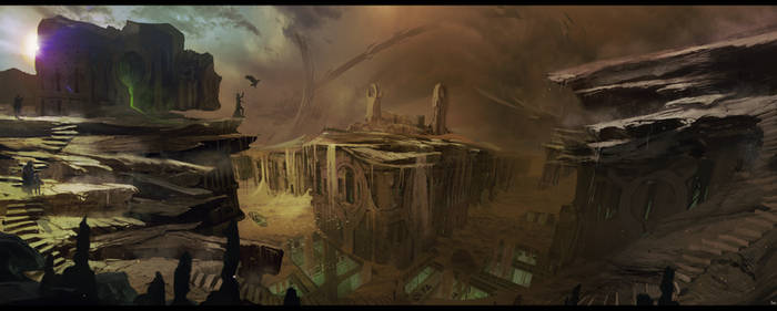 THE MAKER Sietch Tabr surface of arrakis