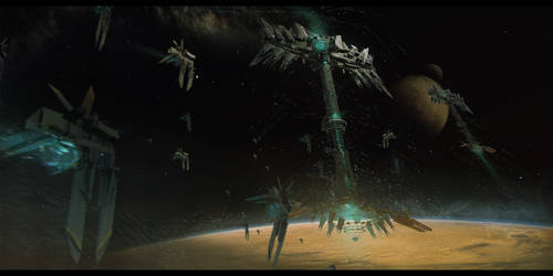 THE MAKER: Visions of Dune_ Heighliner concept
