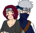 Rin and Kakashi by gabi-s