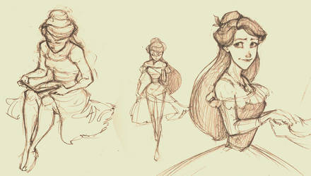 Meghan doodles by Kecky