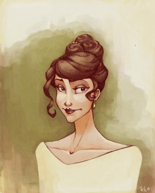 Lady by Kecky