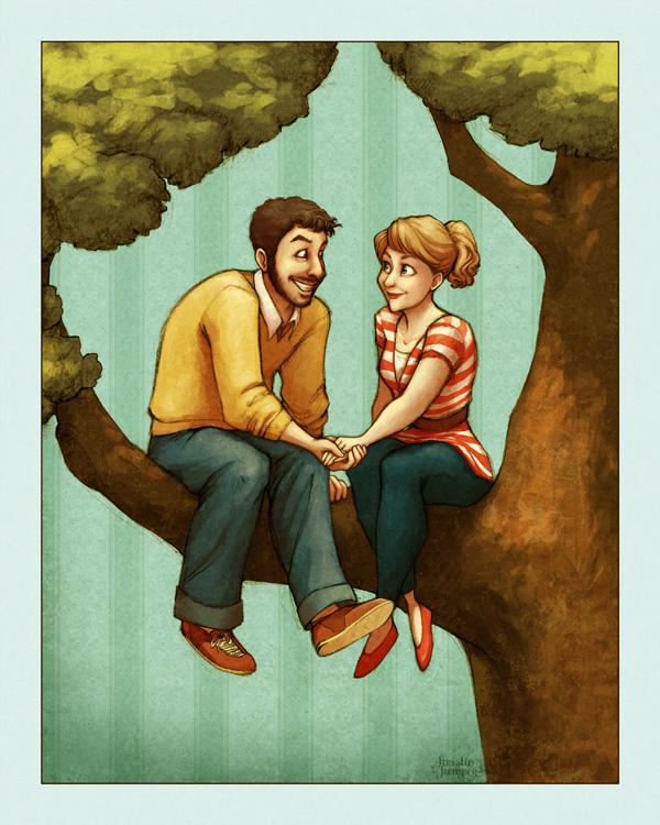 Sittin in a Tree by Kecky