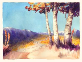 Hillside by Kecky