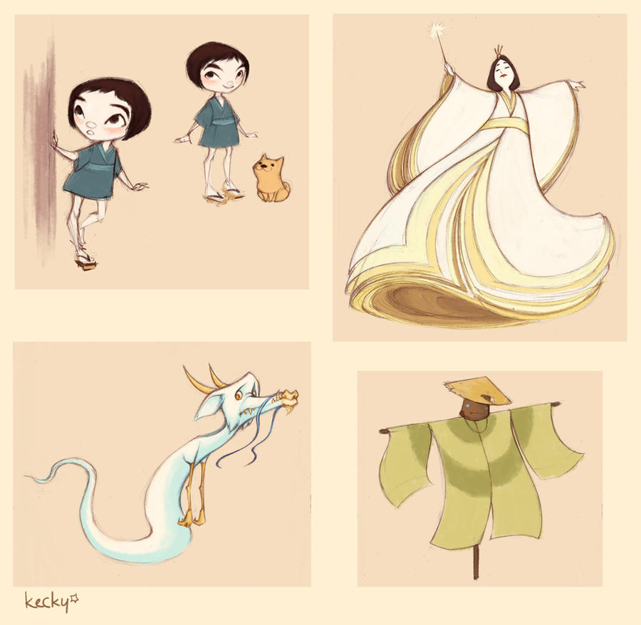 Character Designer Salary In Japan : Character designs japanese wizard of oz by kecky on