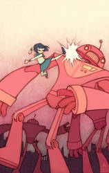 Yoshimi Battles the Pink Robots by Kecky