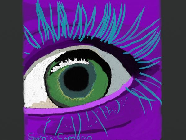 Squishy Eyes : puple eye by squishy-the-hippo on deviantART