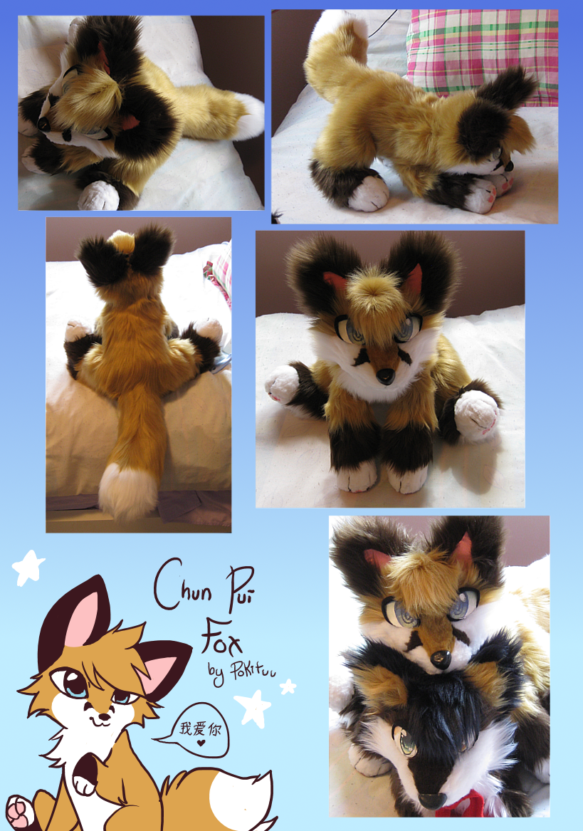 Chun Pui Fox Plush by pokituu