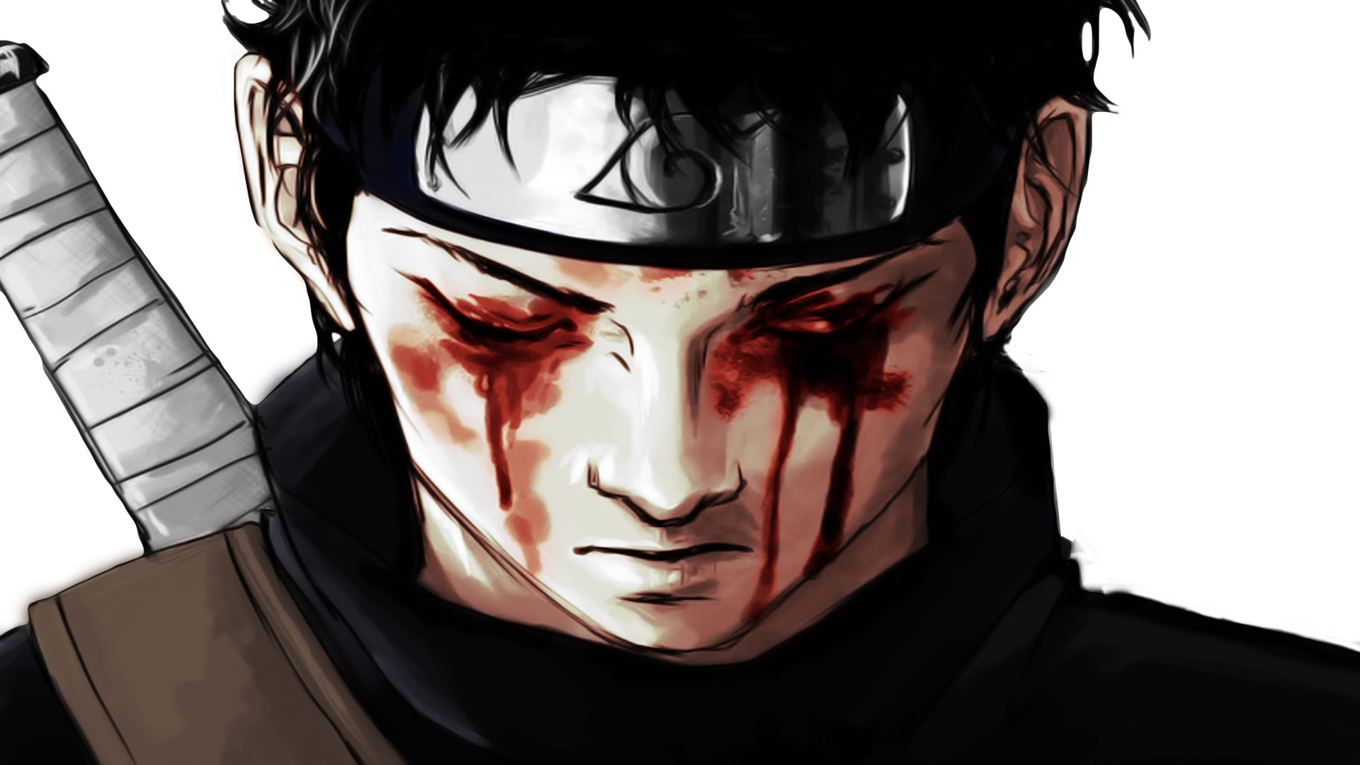 Naruto Shippuden  Shisui Uchiha  Color  Render by TheAMVDBZ on