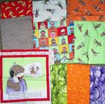 fabric sock monkey quilt contemplation 2