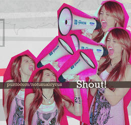 Shout by Javodesing
