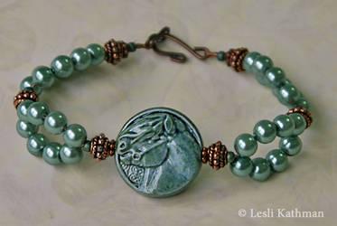 Celtic Pony Bracelet by LesliKathman