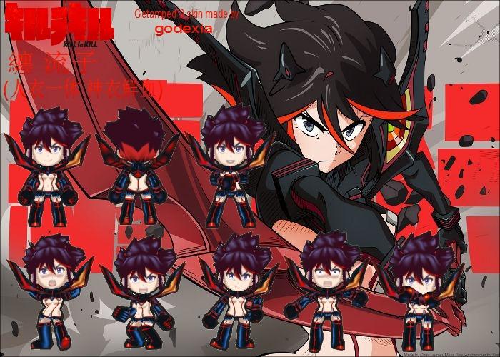 Ryuko Matoi Kamui Senketsu Ver From Kill La Kill By Godexia