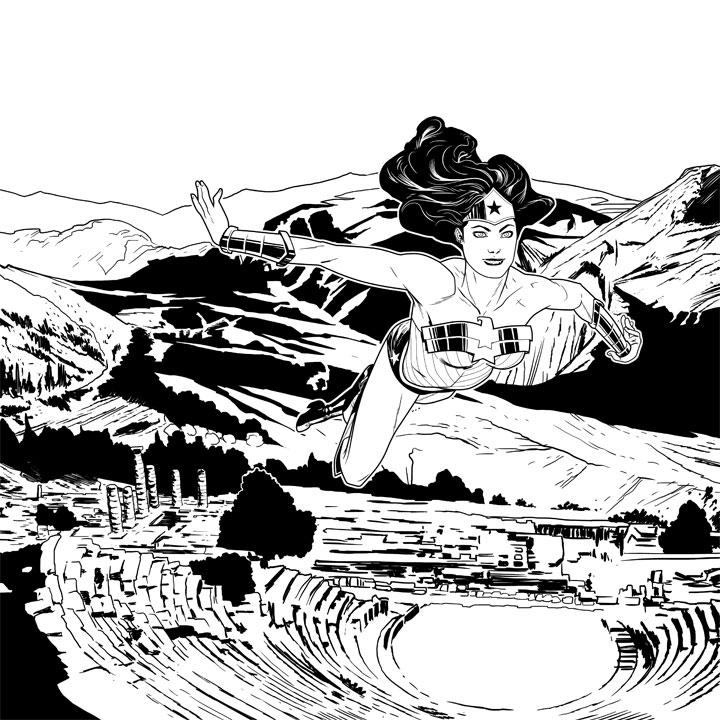 Wonder Woman Triumphant by joshhood