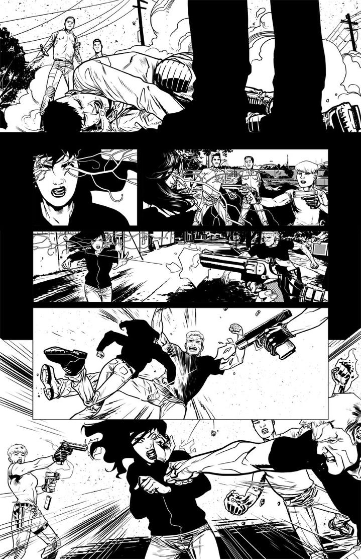 We Can Never Go Home Issue 4 page by joshhood