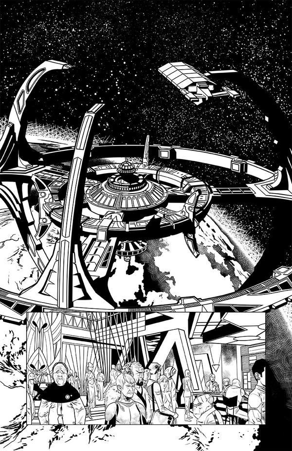 DS9 Frontier Doctor 01 by joshhood