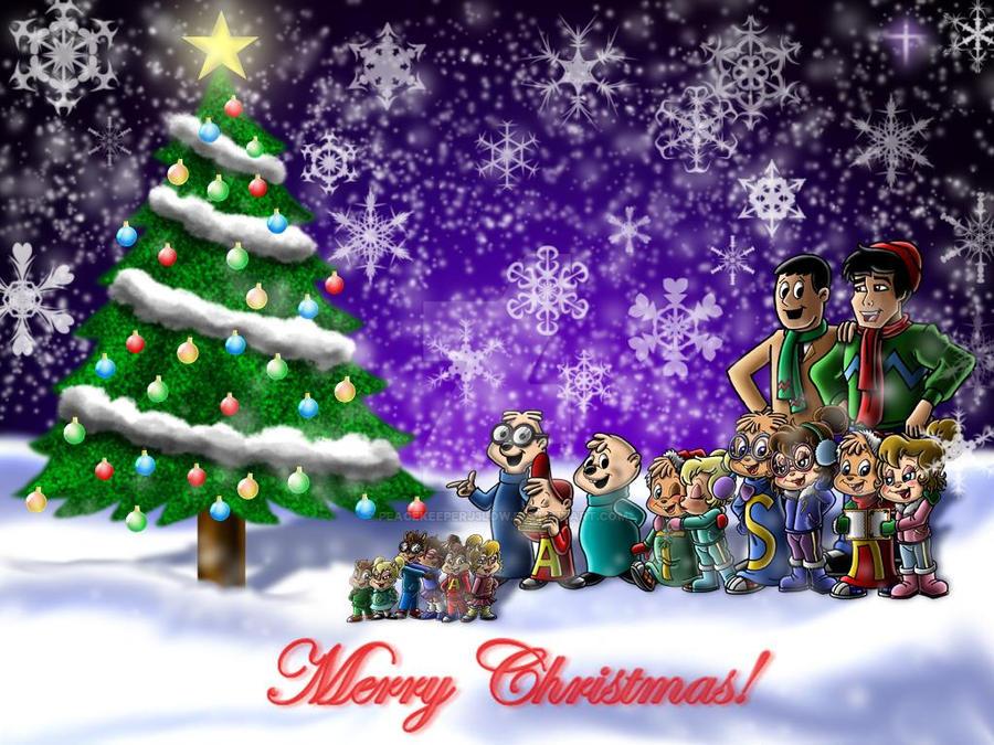 A Chipmunk Christmas by Peacekeeperj3low on DeviantArt