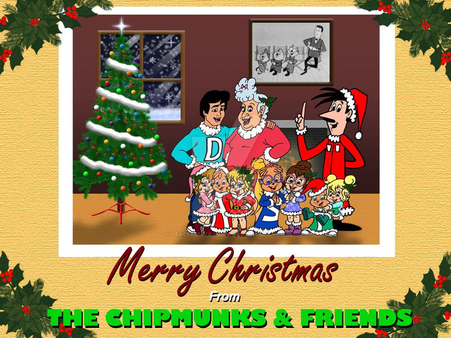 a merry chipmunks christmas by peacekeeperj3low - Chipmunks Christmas