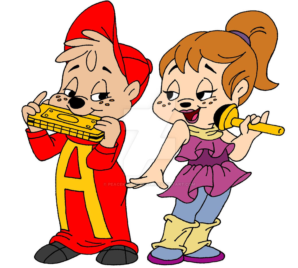 Alvin And Brittany Music Duo By Peacekeeperj3low On DeviantArt