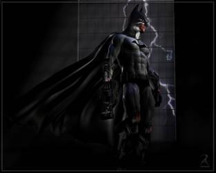 Long Dark Knight by RawArt3d