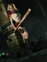 Harleys' hunt by RawArt3d