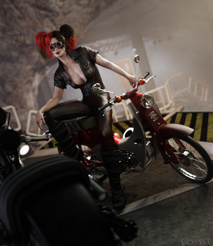 Harley's Ride by RawArt3d