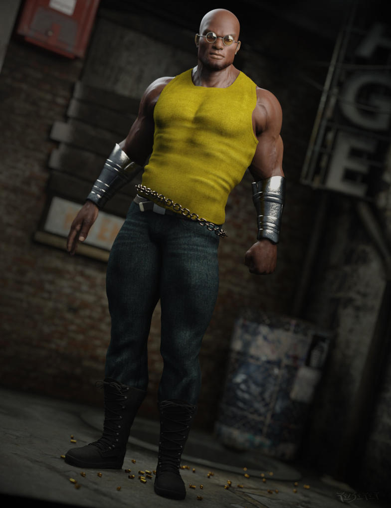 Luke Cage by RawArt3d