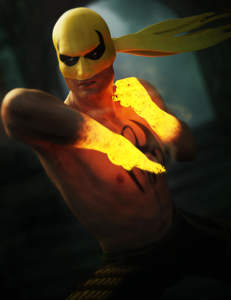 The Iron Fist by RawArt3d