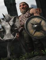 Hog Rider by RawArt3d