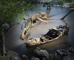 Dragon Lake by RawArt3d