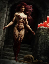 The Blood Queen by RawArt3d