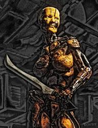 Battle Bot by RawArt3d