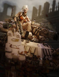 Spider Tank Girl