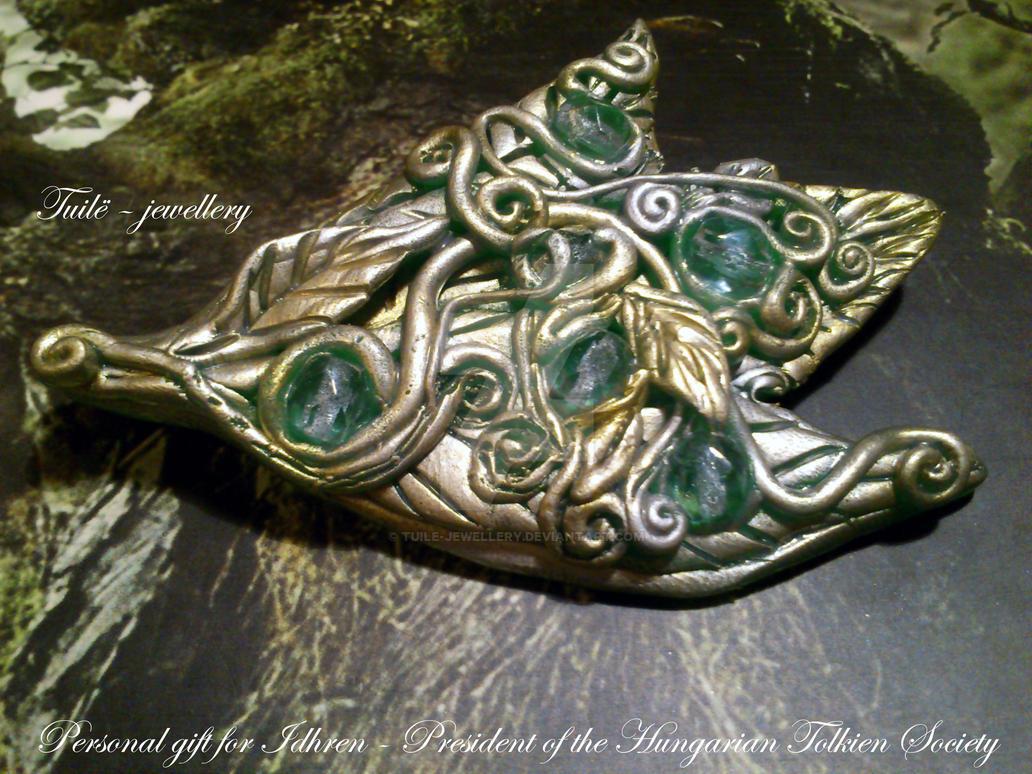 Elven brooch_2 by Tuile-jewellery