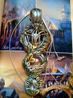 Imladris necklace by Tuile-jewellery