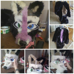 Fursuit Progress by DeathSpell1995