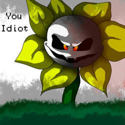 Flowey the Flower by DeathSpell1995