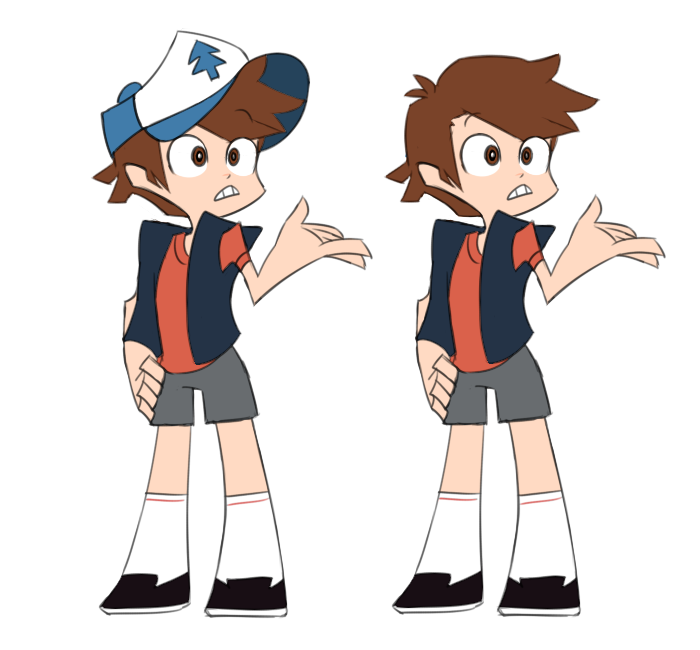 Dipper pines by FlowersIMH