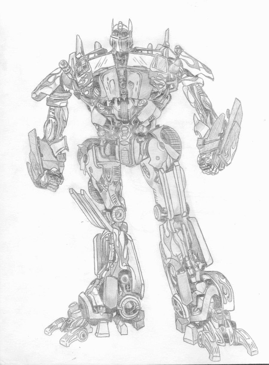 Optimus Prime By Savthespartan On Deviantart