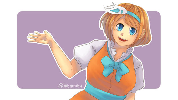 orange blue purple