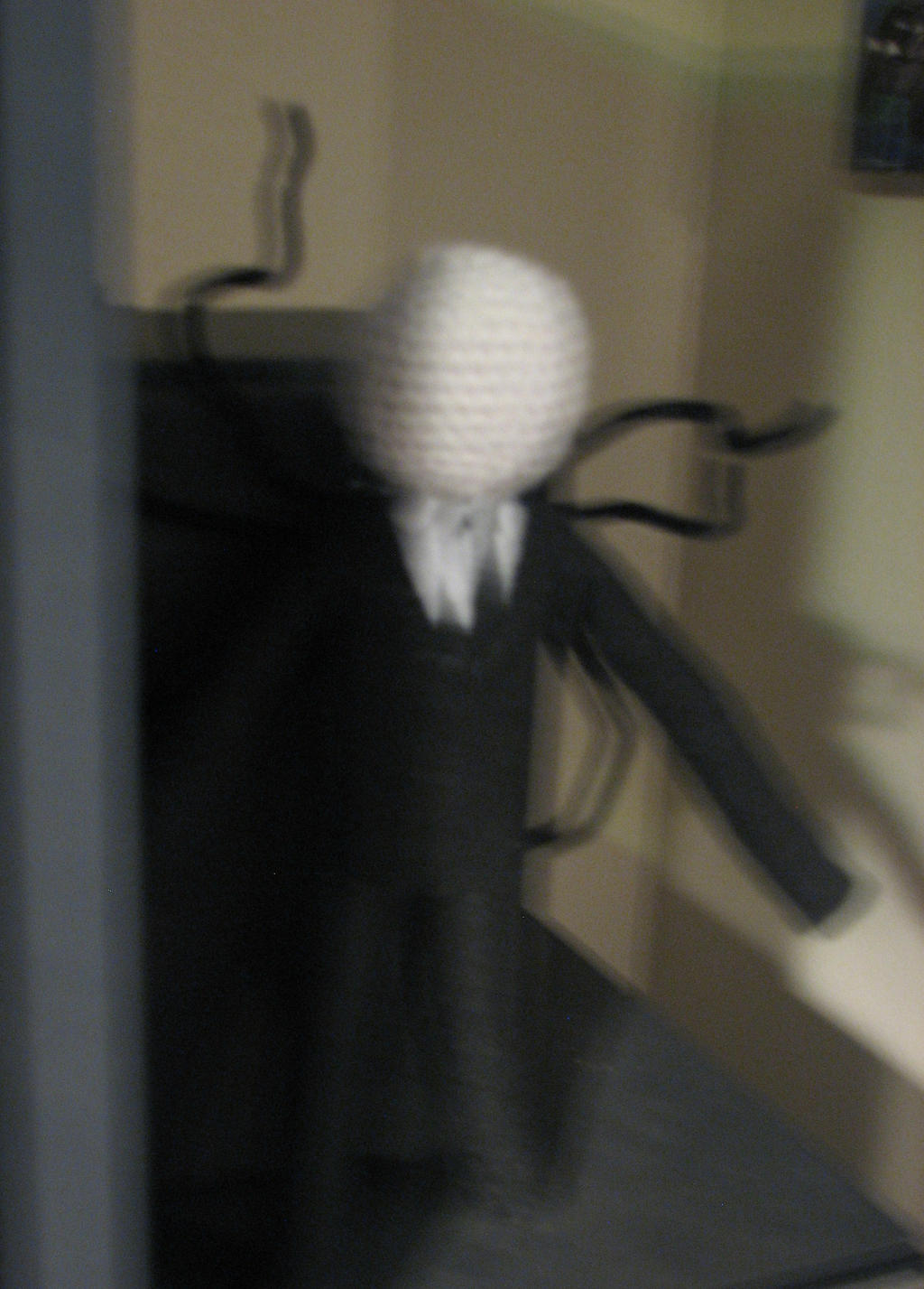 Amigurumi Slender Man : Slenderman Amigurumi Doll by lady-of-frizz on DeviantArt