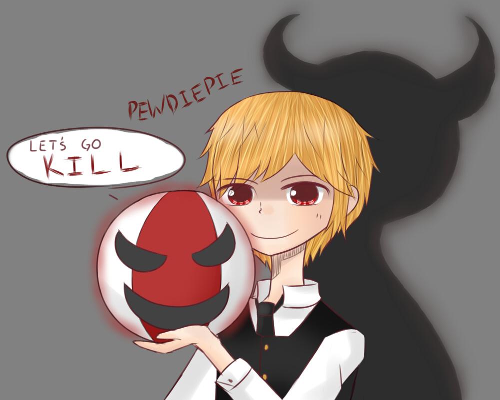 Evil Pewdiepie by Kururu245