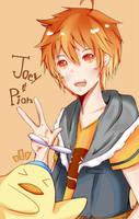 .:AT-Pyonni:. Joey and Pion by Kururu245