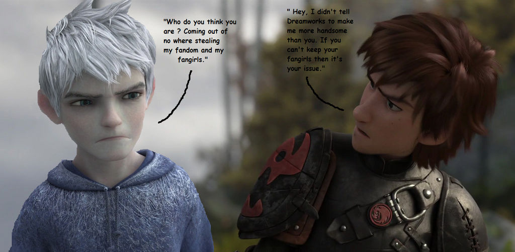 Jack Frost VS Older Hiccup By DarkMousyxKagome On DeviantArt