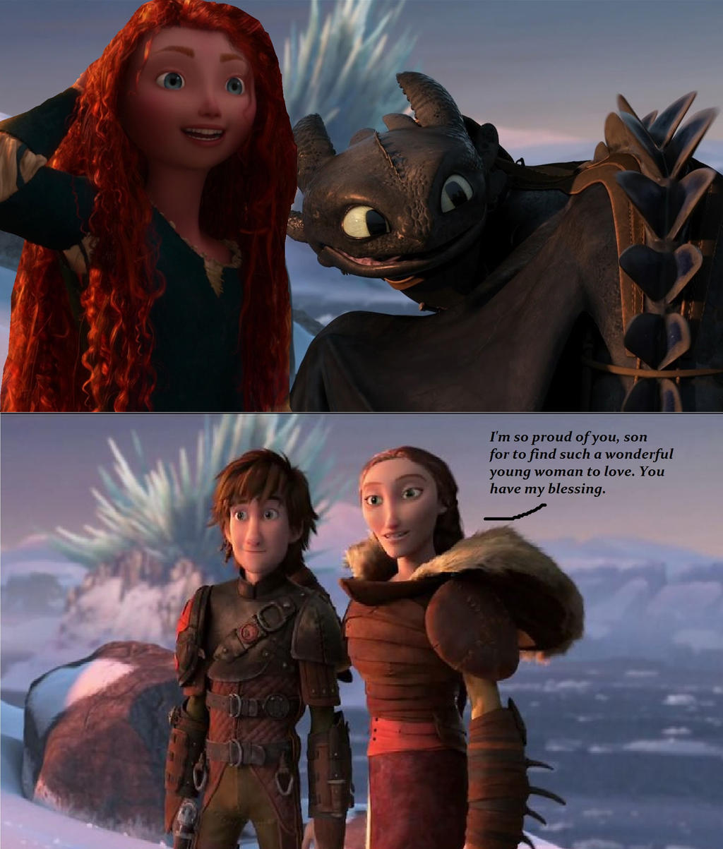 httyd 2 valka and hiccup first meet