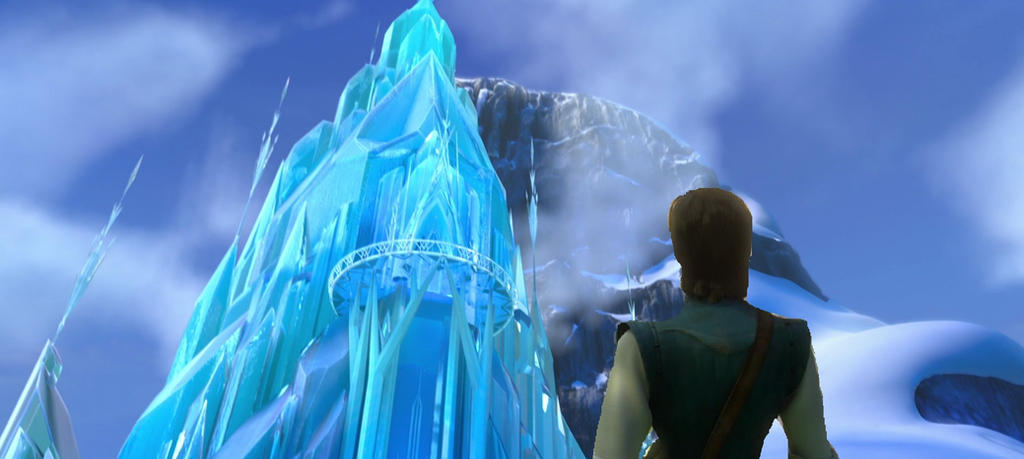 Disney Frozen Named Glass