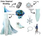 Jelsa Inspired Wedding